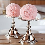 cheap Candles & Candleholders-Pink Floral/Botanical Fragrance Rose Ball Candle (Random Color)