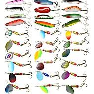 30 pcs Esca Esche rigide Cucchiai Esca metallica Plastica dura Sprofondamento veloce Pesca di mare Pesca a mulinello Pesca di carpe / Pesca con esca / Pesca dilettantistica