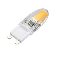 G9 LED Bi-pin Lights T 1 COB 300lm Warm White Cold White 3000-3500K/6000-6500K Dimmable AC 220-240V
