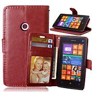 のために Nokiakケース ウォレット / カードホルダー / スタンド付き ケース フルボディー ケース ソリッドカラー ハード PUレザー NokiaNokia Lumia 930 / Nokia Lumia 830 / Nokia Lumia 640 / Nokia