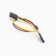 arduino- (20cm) için dişi uzatma kablosu kablo Dupont 4-pin 2.54mm dişi