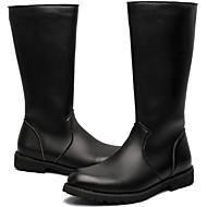 Masculino Botas Conforto Botas Cowboy/Country Botas de Montaria Botas de Moto Curta/Ankle Coturnos SintéticoPrimavera Verão Outono