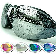 お買い得  水中メガネ-スイミングゴーグル 曇り止め サイズが調整できます。 紫外線カット 防水 プラスチック アクリル ピンク ブラック ブルー ピンク ブラック ブルー