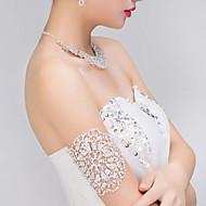 ブライダルのラインストーンクリスタル結婚式の腕輪のブレスレット1個