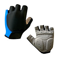 cheap Cycling Gloves-Sports Gloves Bike Gloves / Cycling Gloves Wearable Breathable Wearproof Cushion Fingerless Gloves Silicone Synthetic Leather Gel Lycra