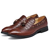Bărbați Pantofi Imitație de Piele Primăvară Vară Toamnă Iarnă Confortabili Pantofi formale Mocasini & Balerini Pentru Casual Party & Seară