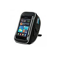 hesapli Bisiklet Gidon Çantaları-ROSWHEEL Cep Telefonu Çanta / Bisiklet Gidon Çantaları 4.8 inç Dokunmatik Ekran, Su Geçirmez Bisiklet için Samsung Galaxy S4 / Diğer Benzer Boyut Telefonları