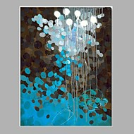 Hand-Painted Abstract Vertical,Modern One Panel Canvas Oil Painting For Home Decoration