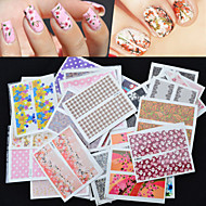 halpa -Nail Jewelry - Muuta - Lovely - Sormi - 6*4*1 - 30Pcs