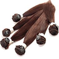 人間の髪編む ブラジリアンヘア ストレート 12ヶ月 ヘア織り