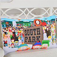 Body Pillow Case Lively South Park Reactive Printing Pillowcase Cover for Bedroom 1 Piece 50cmx75cm Size