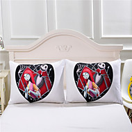 Decorative Pillow Cover Nightmare Before Christmas Body Pillowcase Family Gifts 48cmx74cm One Pair of two