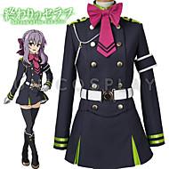 Inspireret af Seraph af End Hiiragi Tsukasa Anime Cosplay Kostumer Cosplay Kostumer Top Nederdel Bælte Sløjfe Mere Tilbehør Til Herre Dame