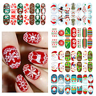 3D Nail Stickers / Nail Jewelry - Akryyli - Lovely / Punk / Häät - Sormi - 10*7.7*0.5 - 1
