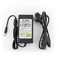 yanse® 12v5a CCTV rendszer hálózati adapter + AC 100 ~ 240V 50 / 60Hz bemeneti DC 12V 5000ma kimenet (EU / AU / UK / US Standard) vezetett