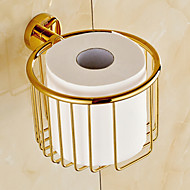 Toilet Paper Holder / Ti-PVD Brass /Contemporary