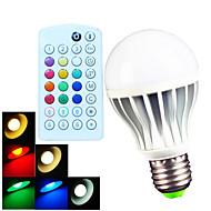 billige Globepærer med LED-B22 E26/E27 LED-globepærer A60(A19) 15 leds SMD 5730 Mulighet for demping Fjernstyrt Dekorativ Varm hvit Kjølig hvit Naturlig hvit RGB 700
