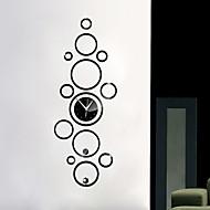저렴한 -기타 현대/현대 벽 시계 , 기타 플라스틱 17.7*47.6 inch (45*121cm)