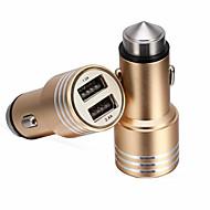 renepai® 2-in-1 12v / 24v dc auton tupakansytyttimen kaksinkertainen virtalähde pistorasiaan jakaja