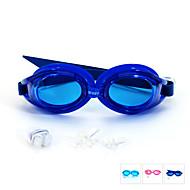billiga Swim Goggles-Simglasögon Anti-Dimma / Justerbar storlek / Vattentät Kiselgel PC Rosa / Blå / Ljusblå Rosa / Blå / Ljusblå