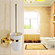 저렴한 욕실 비품-화장실 브러쉬 홀더 네오클래식 놋쇠 1개 - 호텔 목욕