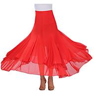 cheap Dancewear & Dance Shoes-Ballroom Dance Tutus & Skirts Women's Performance Crepe Draping Skirt