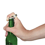halka şekli taşınabilir paslanmaz çelik bira içecek şişe açacağı
