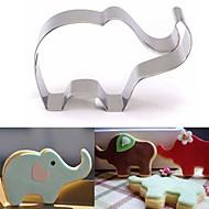 billige Bakeredskap-elefant dyr kake kutter rustfritt stål kake bakervarer kake mold