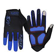 cheap Cycling Gloves-FJQXZ Sports Gloves Bike Gloves / Cycling Gloves Touch Gloves Keep Warm Windproof Fleece Lining Ultraviolet Resistant Wearproof