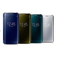 halpa -Varten Samsung Galaxy S7 Edge Ikkunalla / Peili / Flip / Läpinäkyvä Etui Kokonaan peittävä Etui Yksivärinen PC SamsungS7 edge / S7 / S6