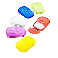 kreative plastische wasserdichte tragbare Seifenschale für die Reise Lagerung