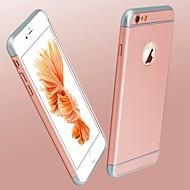 Case Kompatibilitás Apple iPhone X iPhone 8 Galvanizálás Hátlap Tömör szín Kemény PC mert iPhone X iPhone 8 Plus iPhone 8 iPhone 7 Plus