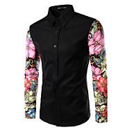 Majica Muškarci Dnevno Geometrijski oblici Color block