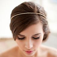 合金 フラワー  -  ヘッドバンド 帽子 1個 結婚式 パーティー かぶと