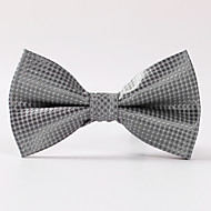 Men's Party/Evening Wedding Formal Silver Box Formal Bow Tie