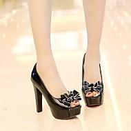 Women's Shoes Heel Heels / Peep Toe / Platform Sandals / Heels Outdoor /  Dress / Casual Black / Red / White