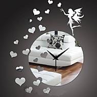 Rotund Modern/Contemporan / Informal / Birou / Afacere Ceas de perete,Vacanță / Case / Inspirațional / Zi de Naștere / Nuntă / Familie /