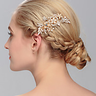 cheap Candylicious Accessories-Pearl Hair Combs 1 Wedding Special Occasion Casual Office & Career Outdoor Headpiece