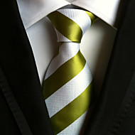 Slips ( Grøn / Hvid , Polyester ) Stribet