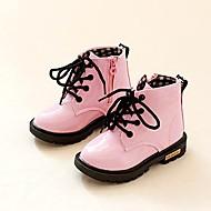 男の子用 女の子用-アウトドア カジュアル パーティー-合皮-ローヒール-ファッションブーツ-ブーツ-ブラック ブルー イエロー ピンク レッド