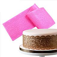 tanie Formy do ciast-Forma do pieczenia Koronkowe Placek Cupcake Tort Silikonowy Ekologiczne Wysoka jakość Nieprzylepny