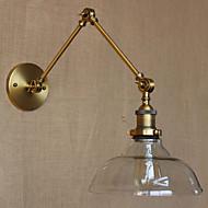 The IKEA LOFT Style Designer Lamp Modern Glass Bronze Cafe IKEA Decorative Wall Lamp