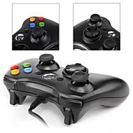 *3-PC001BW Ledning Game Controller Til Xbox 360 / PC ,  Gaming Håndtag Game Controller ABS 1 pcs enhed
