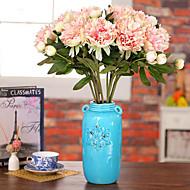 preiswerte -Künstliche Blumen 1 Ast Pastoralen Stil Pfingstrosen Tisch-Blumen