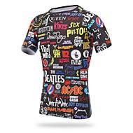 ieftine -XINTOWN Jerseu Cycling Bărbați Manșon scurt Bicicletă Jerseu Tricou Topuri Îmbrăcăminte Ciclism Uscare rapidă Rezistent la Ultraviolete