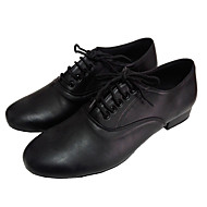 Men's Ballroom Shoes Leather Upper Latin Dance Shoes for Man Customizable
