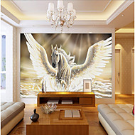 JAMMORY 3D Wallpaper For Home Contemporary Wall Covering Canvas Material PegasusXL XXL XXXL