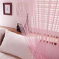 Jeden panel Window Léčba Země Obývací pokoj Polyester Materiál záclony závěsy Home dekorace For Okno