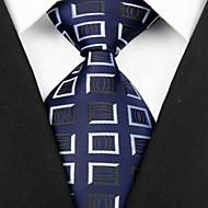 tanie Akcesoria dla mężczyzn-Męskie Luksusowy / Kratka / Klasyczny Elegancki Krawat Kreatywne