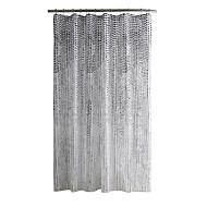 cheap Shower Curtains-Shower Curtains Modern Polyester Polka Dot Machine Made